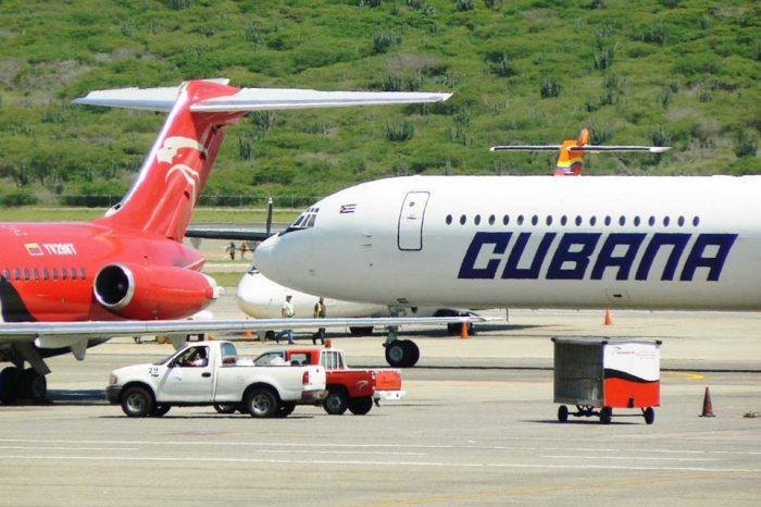 Cubana de Aviación cancela sus vuelos a Cancún y Caracas tras sanciones de EEUU