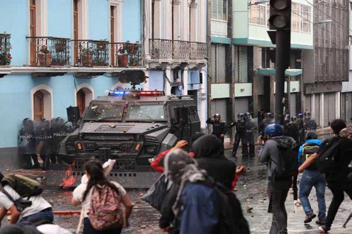 Protestas y paro en Ecuador deja varados en Guayaquil a varios venezolanos