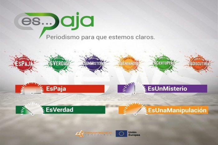 Nace EsPaja.com un portal dedicado a combatir la desinformación existente en el país