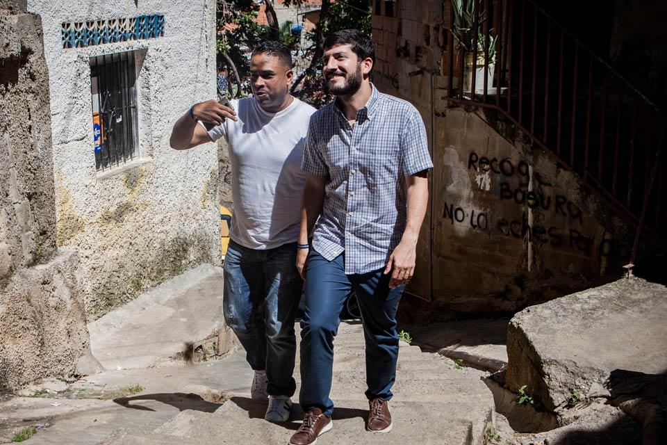 Esteban Farías y Roberto Patiño