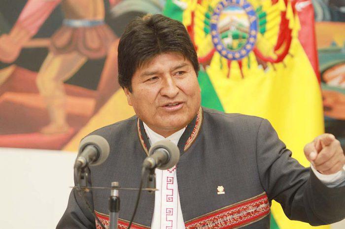 Evo Morales llama a reunión de emergencia ante situación en el país en los últimos días
