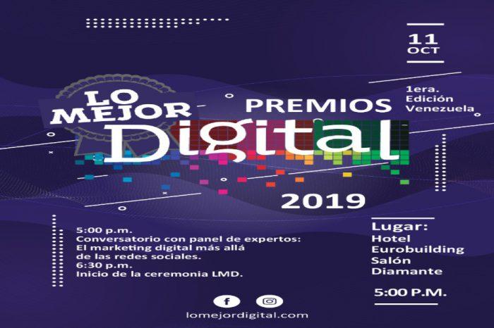 """""""Lo Mejor Digital"""", los premios que buscan galardonar a los sitios destacados de la 2.0"""
