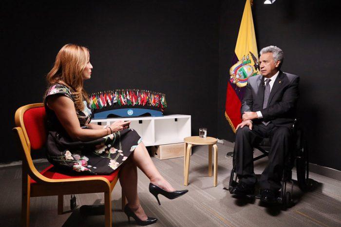 Corredor humanitario para los venezolanos anuncia presidente de Ecuador