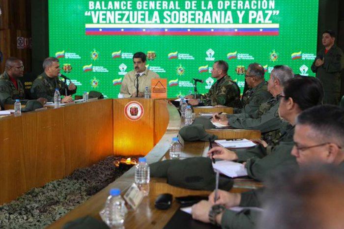 Maduro mantendrá desplegada a la FAN en la frontera con Colombia tras ejercicios