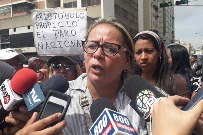 Griselda Sánchez Sindicato Nacional de Maestros
