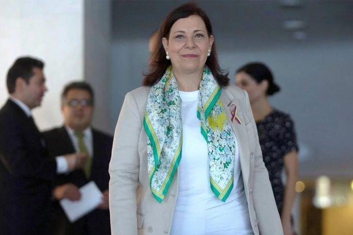 Embajadora de Guaidó en Brasil asegura que oposición mantiene contacto con Rusia y China