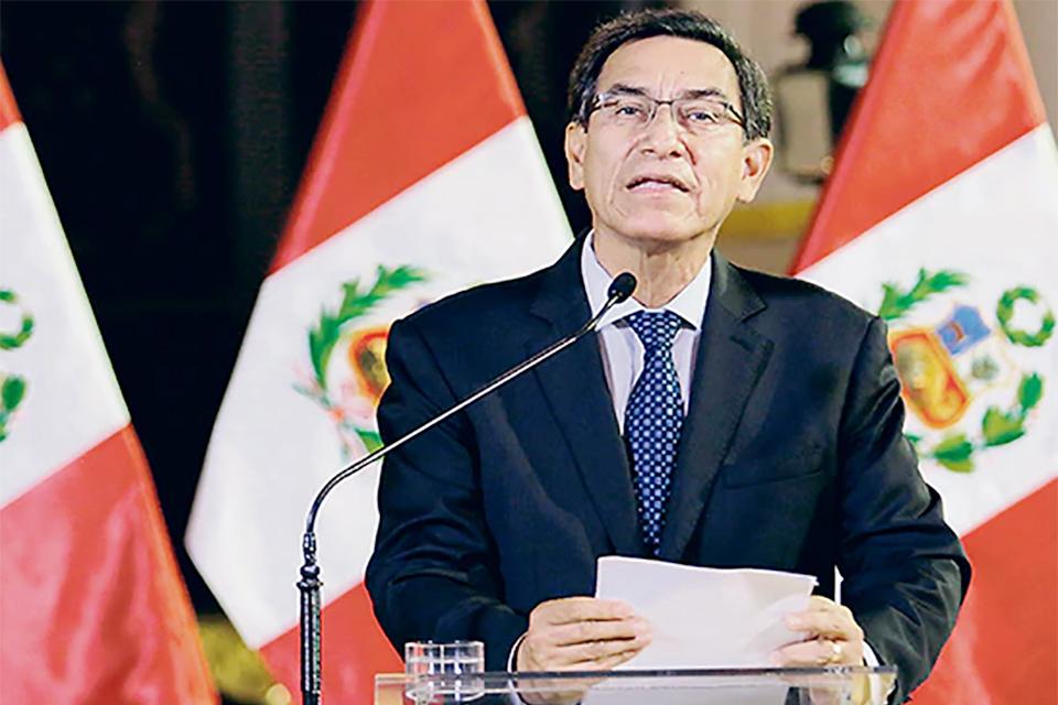 Vizcarra publica Decreto de Urgencia en Perú. Se autoriza a los organismos electorales a emitir los reglamentos y normas necesarias para los comicios