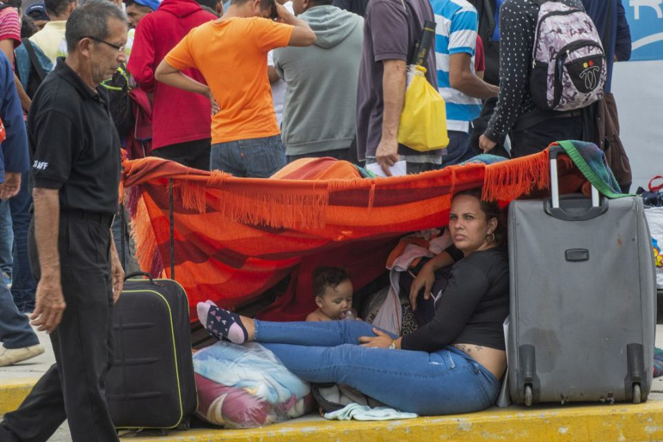 Migracion venezolana refugiados migrantes venezolanas