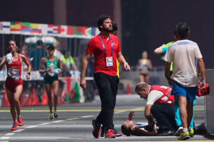 El maratón dela muerte, por Jesús Elorza