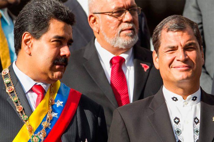Países latinoamericanos rechazan acciones de Nicolás Maduro para desestabilizar a Ecuador
