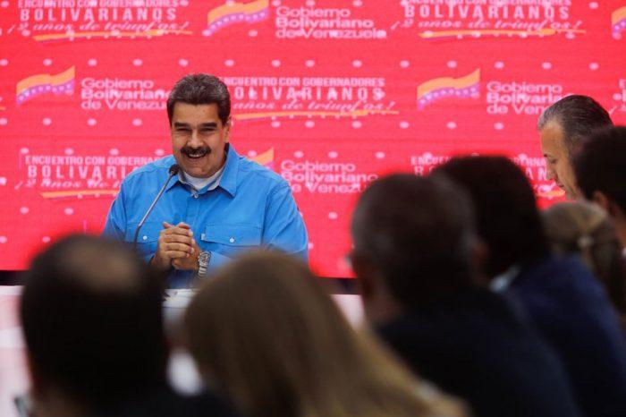 """Maduro entregará minas de oro productivas a gobernadores chavistas y """"protectores"""""""