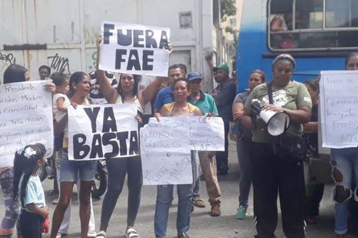 En José Félix Ribas protestaron nuevamente para rechazar operativos de las FAES