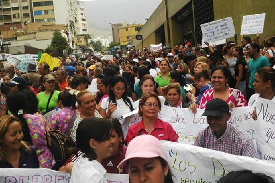 Según el Observatorio Venezolano de Conflictividad Social aunque las protestas disminuyeron 28% la inestabilidad política no se detiene