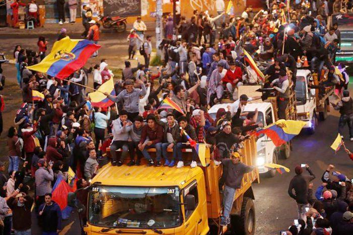 "Crisis en Ecuador | Ministra Romo: Detenidas 17 personas con ""información confidencial"""