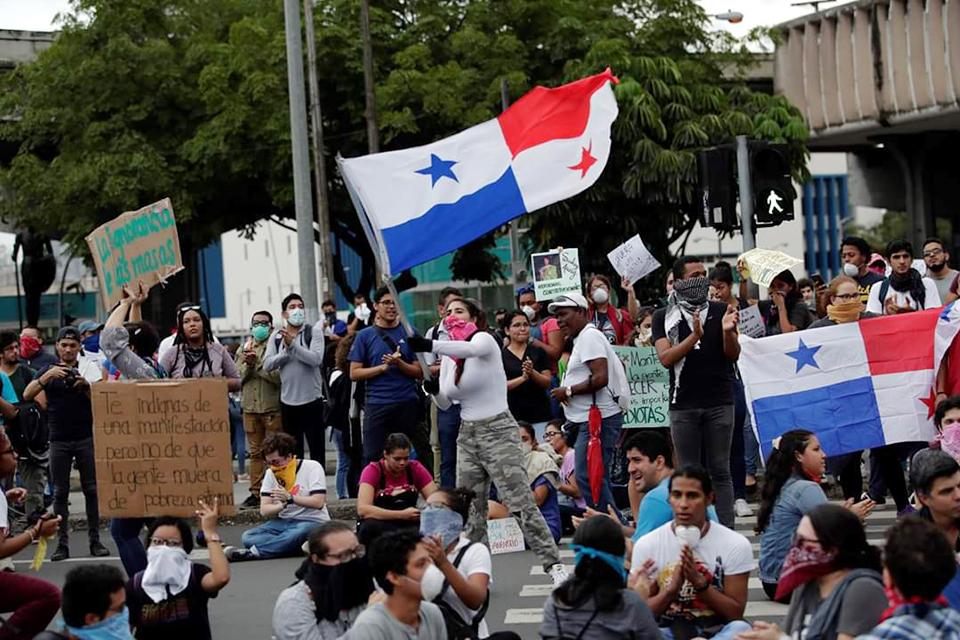 Tensa calma en Panamá tras protestas contra proyecto constitucional