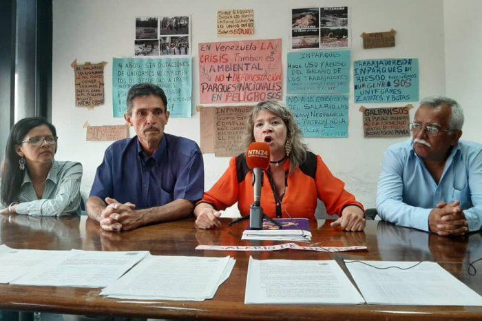 Trabajadores de Inparques rechazan apatía del gobierno ante ecocidio en arco minero