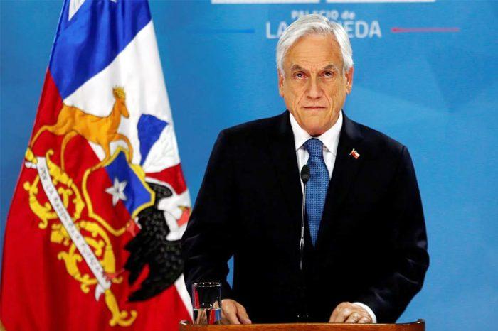 Acusan a Piñera por delitos de crímenes de lesa humanidad en Chile