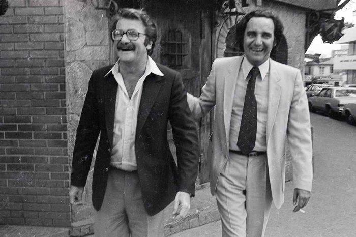 Teodoro Petkoff y Américo Martín
