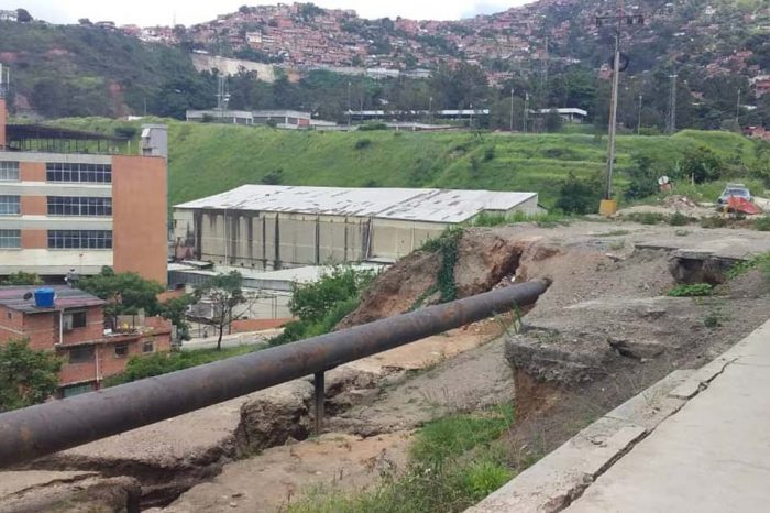 Lluvias y falta de presupuesto ponen en riesgo la vida de 96 familias en Vista Alegre