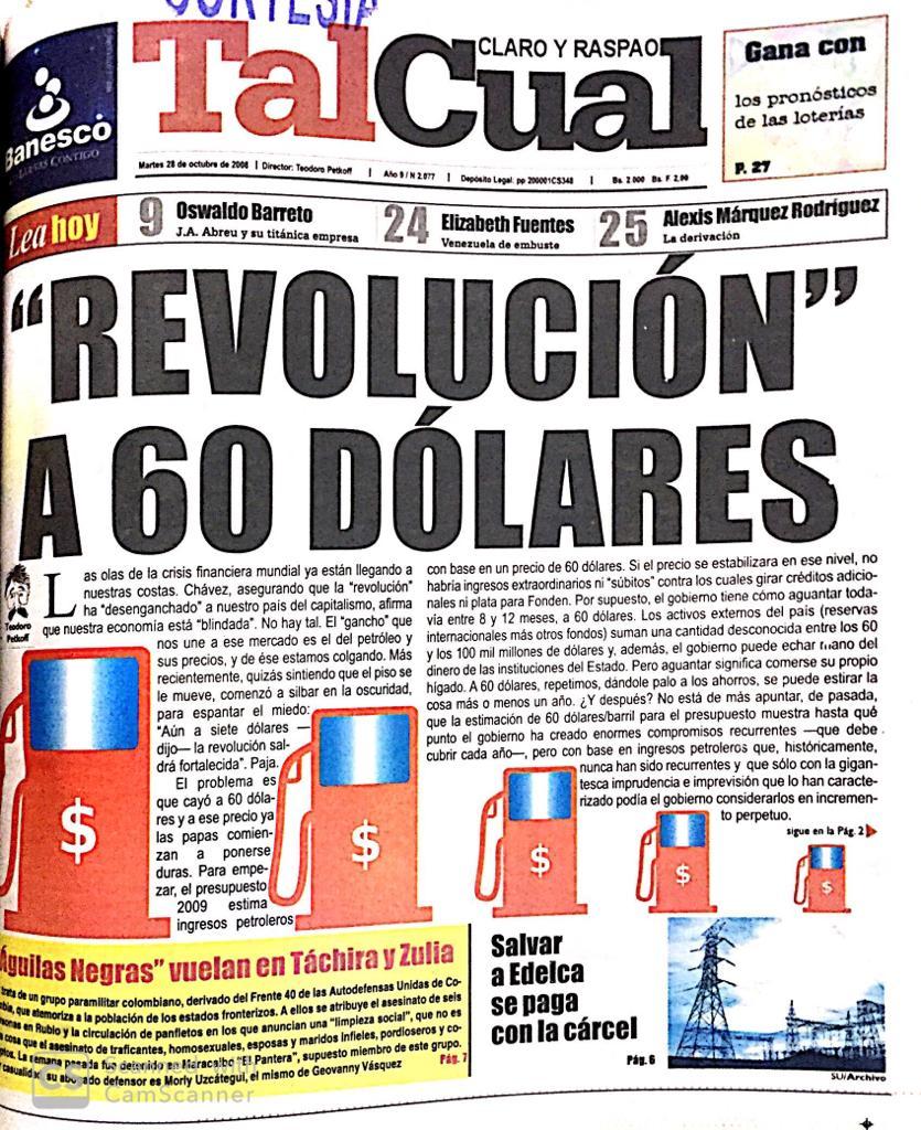Editorial. Revolución