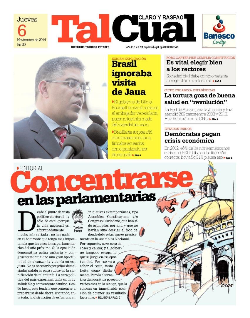 Editorial. Concentrarse