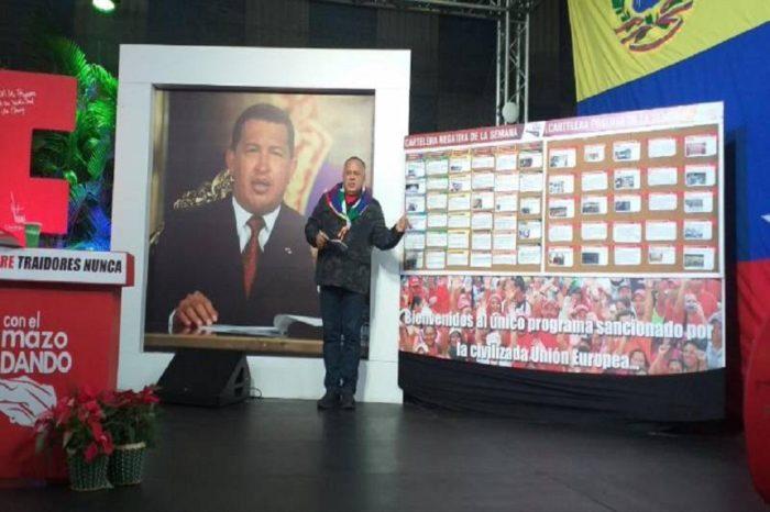 """Cabello asegura que destitución de Calderón Berti es por investigar """"desfalco de Cúcuta"""""""
