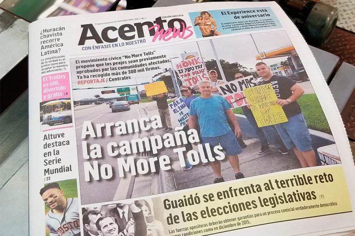 Acento News, nuevo magazine de Miami con información de Venezuela