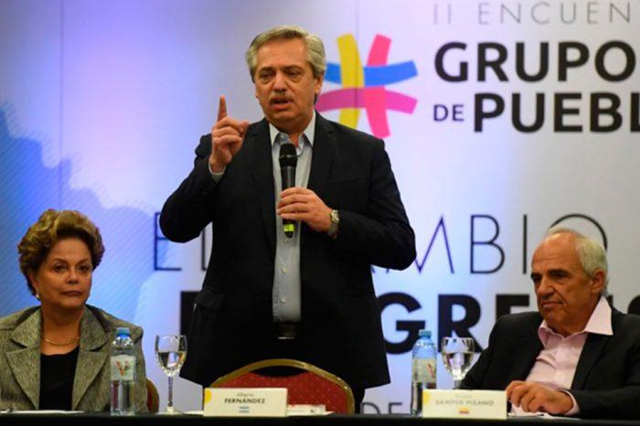 Alberto Fernández-Grupo de Puebla