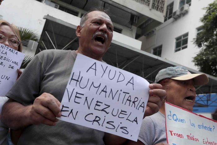Venezolanos exigen a sectores políticos lograr un acuerdo humanitario
