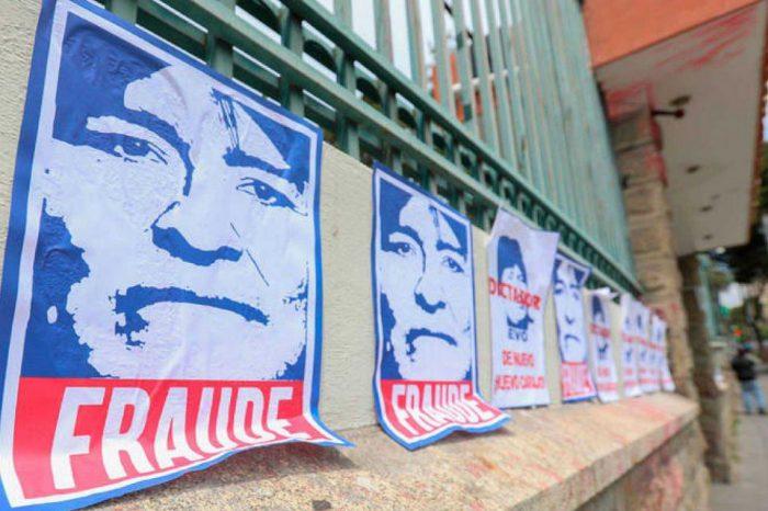 Fiscalía de Bolivia irá contra los integrantes del Tribunal Supremo Electoral por fraude