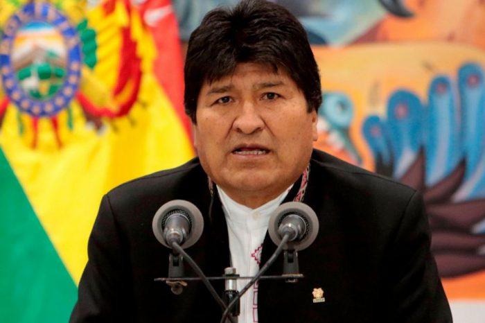 Parlamento de Bolivia recibe carta de renuncia de Evo Morales