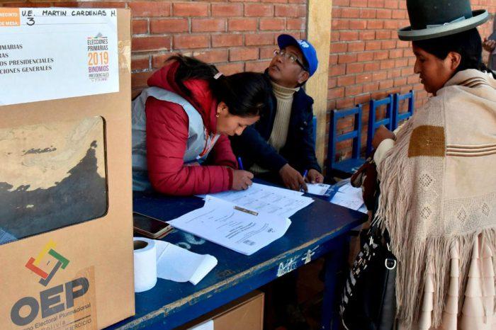 Elecciones presidenciales en Bolivia se realizarán el 3 de mayo