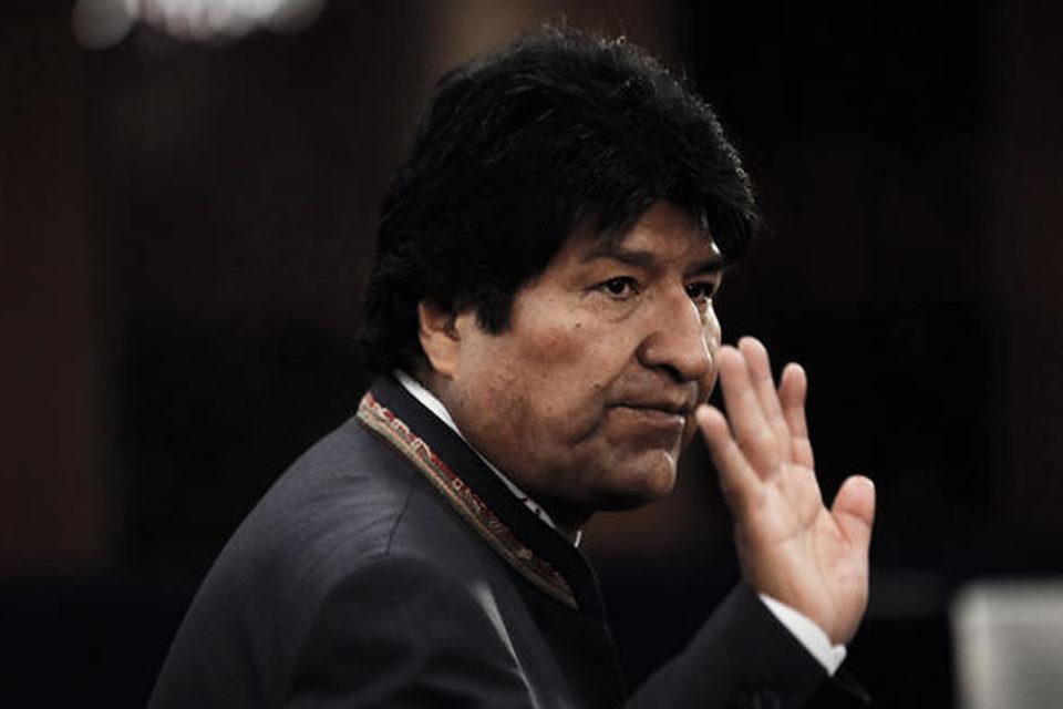 Evo Morales se despide