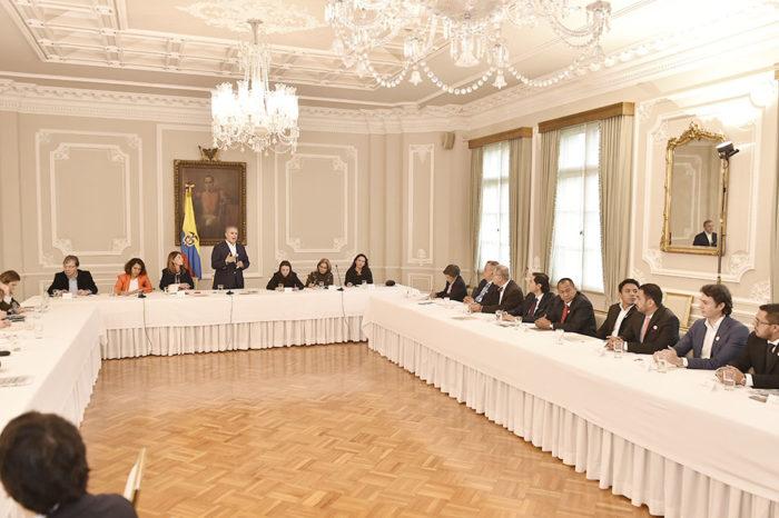 "Protestas en Colombia | Iván Duque da inicio a ""conversación nacional"""