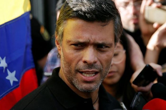Leopoldo López asegura que su lucha por Venezuela seguirá desde cualquier espacio