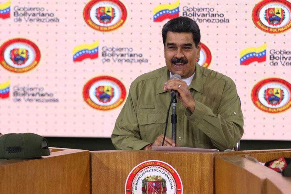 Nicolás Maduro sobre milicianos y militarización