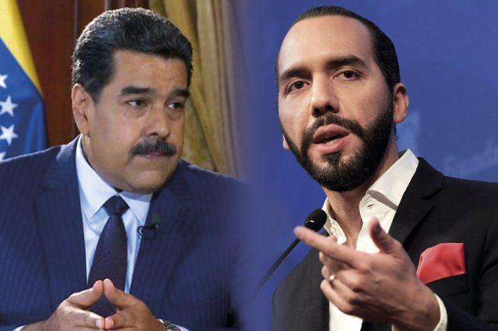 """Presidente de El Salvador """"trollea"""" a Maduro en redes sociales"""