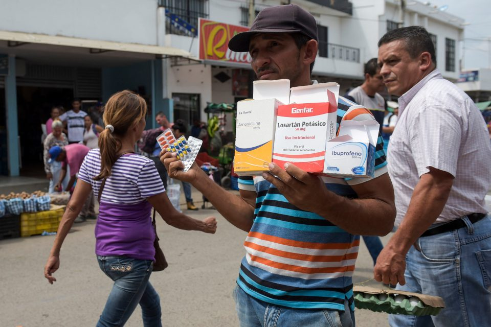 Reventa de medicamentos Cúcuta