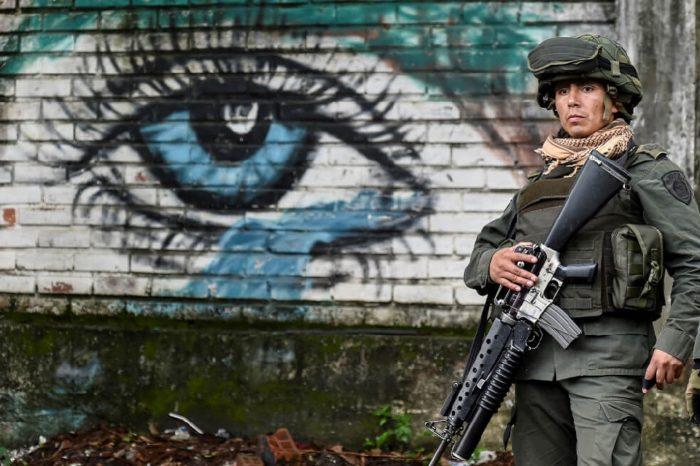 Protestas en el centro de Bogotá se replicaron nuevamente el #23Nov