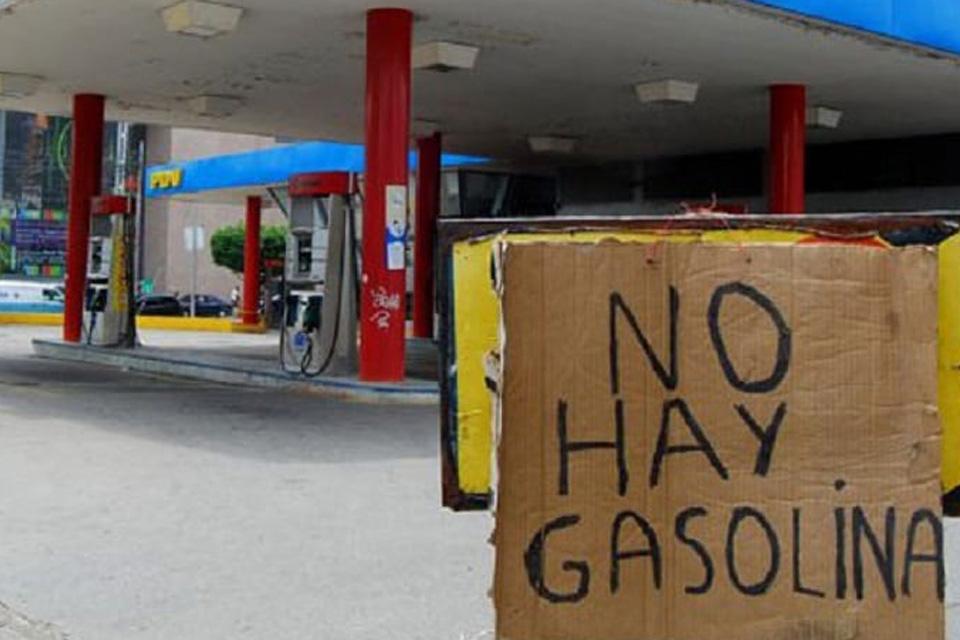No hay gasolina