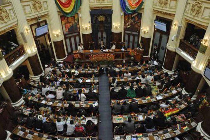 Parlamento boliviano se prepara para nombrar presidente interino este martes