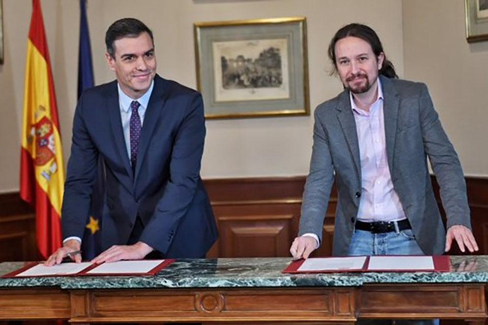 España tendrá tres vicepresidentes y Pablo Iglesias será uno de ellos