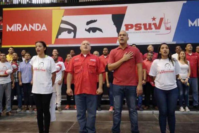 PSUV quiere llegar a nueve millones de carnetizados antes de las parlamentarias