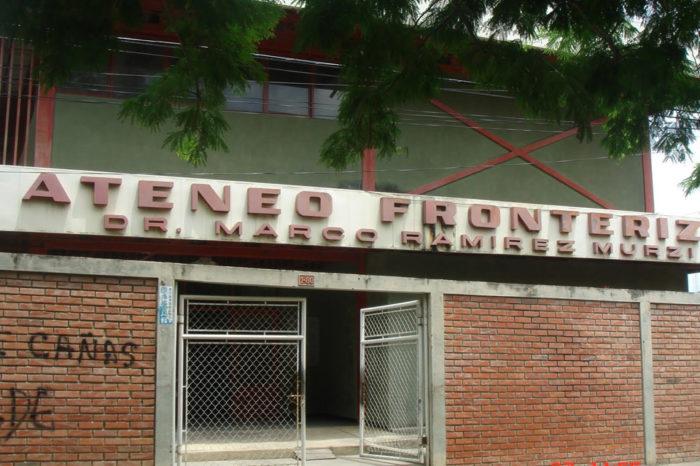 Ateneo fronterizo dejó de ser un centro cultural y se convirtió en hotel