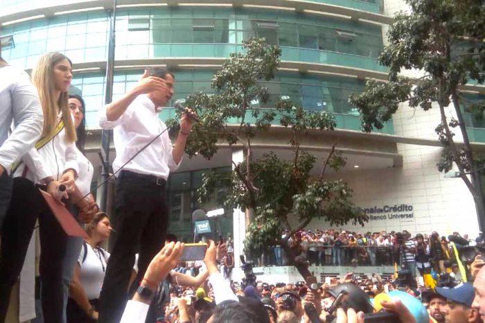 """Oposición marchó y Juan Guaidó anunció """"calle sin retorno"""" con agenda de conflicto"""