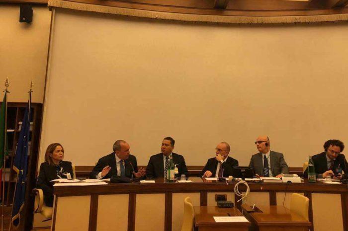 """Integrantes de la """"mesita"""" se reunieron con senadores italianos"""