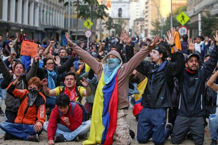 Descontento social no es el único factor que mueve las protestas en Colombia