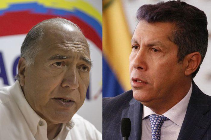 Alguien miente en AP: Eduardo Semtei y Henri Falcón se contradicen