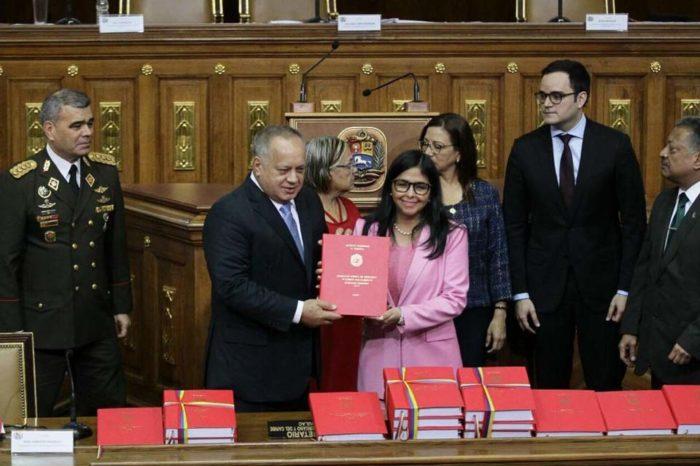 Presentacoón Ley de Presupuesto anual 2020
