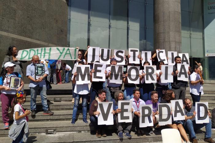 ONG defensoras de DDHH también son vulnerables a la violencia policial y militar